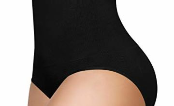 SIMIYA Women's Underwear Shapewear High-Waist Tummy Control Knickers Slimming Seamless Waist Shaper