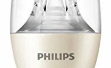 Philips Scene Switch LED E14 Small Edison Screw Candle Light Bulb, 3 Step Dimming, Natural Light, Cosy Light, 5.5 W (40 W) - Warm White