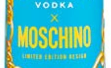 Ciroc Vodka 70cl Moschino Limited Edition Bottle Design