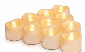 "Homemory Battery Tea Lights,Dia1.4"" x H1.3"