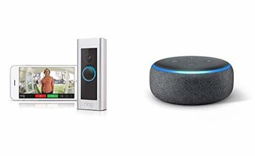 Ring Doorbell Pro + Echo Dot (no additional cost)