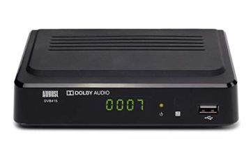 August DVB415 - Box Recorder 1080p HD - HDMI and Scart Set Top Box with PVR for Recording Your Favourite Shows
