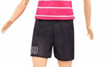 Barbie Made to Move Doll, Football Player Doll