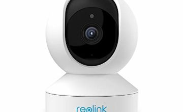 Reolink 4MP Pan Tilt Baby Monitor, 2 Times of 1080P Smart Wireless IP Camera, 2.4/5GHz Dual-Band WiFi Indoor Camera 2-Way Audio CCTV Security Camera for Home Elder Pet (E1 Pro)