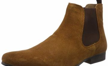 Save on Red Tape Men's Stanway Chelsea Boots, Brown (Tan 0), 11 (45 EU) and more