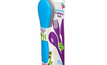 Sistema Cutlery to Go, Polypropylene, Assorted, One
