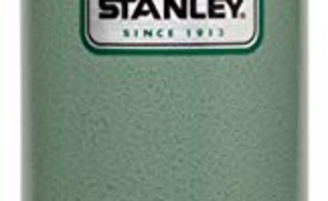 Stanley Legendary Classic Travel Mug French Press .47 Liter Hammertone Green Double Wall Vacuum Insulation 18/8 Stainless Steel Durable Press Folding Carry Loop Leak Proof Unbreakable