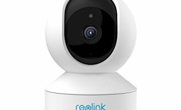 Reolink WiFi Security Camera, 1296P Baby Monitor, Pan/Tilt with Two-Way Audio, Night Vision Home Surveillance Indoor Cam E1