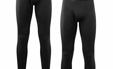 LAPASA Men's 2 Pack & 1 Pack Long Johns for Men Thermal Mens Thermal Underwear Mens Fleece Lined Long Johns M10,M56