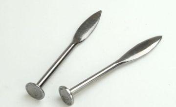Footprint Pair of Line Pins