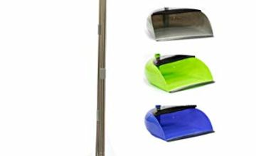 Long Handled Dustpan and Brush Set Lobby Dust Pan with Long Handle Sweeping Broom