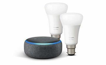Echo Dot + Philips Hue White 2-pack for £34.99