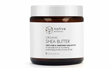 Native Botanics Organic Raw Shea Butter – Helps Repair Skin