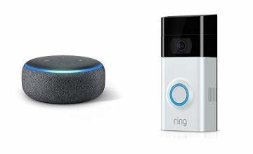 Buy Ring Doorbell2 and get an Echo Dot (+£0)