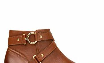 flexi NALA Women's Genuine Cowhide Leather Style Boot
