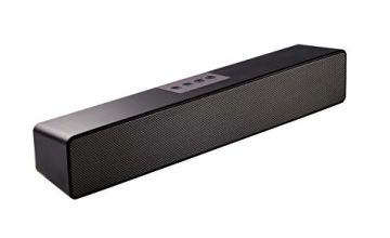 Computer Soundbar, Computer Speakers for PC,Desktop Laptop, Tablet, Smartphone, TV Stereo Speaker Bluetooth 15 Inch Wired & Wireless Built in Battery and Microphone