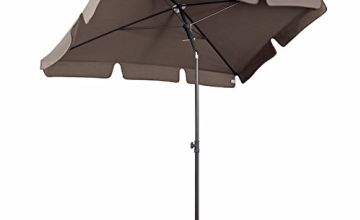 Sekey® Garden Parasol Patio/Beach/Balcony/Pool Umbrella Sunscreen Upf 50+ Rectangle