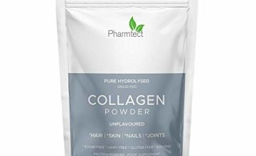 Pure Hydrolysed Collagen Powder | 100% Premium for Hair, Skin, Nails, Gut, Joints, Bones, Wrinkles | Odourless & Tasteless | Free from Hormones | Keto & Paleo