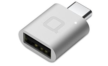 nonda USB Type C to USB 3.0 Adapter, Thunderbolt 3 to USB Adapter Aluminum with Indicator LED for MacBook Pro 2019/2018, MacBook Air 2018, Pixel 3, Dell XPS and More Type-C Devices (Silver)