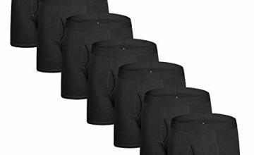 Lovemist Men's Underwear Ultimate Soft Cotton Underwear Men Pack, Boxer Shorts for Men Multi Pack Trunks