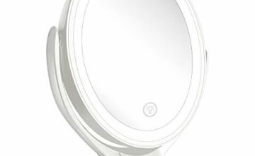 Aesfee LED Lighted Makeup Mirror USB Rechargeable