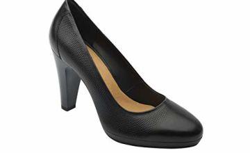 flexi Granada Women's Genuine Leather High Heel Pump Shoe  