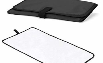 Allis Foldable Travel Changing Mat (Black)