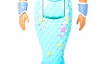 Barbie FXT23 Dreamtopia Merman Doll, Blonde Hair