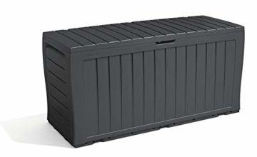 Keter Marvel+ 270L Garden Storage Box - Grey