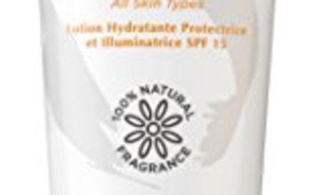 Sanctuary Spa Face Cream, Protect and Illuminate Moisture Lotion SPF 15, Face Moisturiser, 75 ml