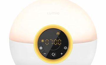 35% off Lumie Bodyclock Rise 100 - Wake-Up Light Alarm Clock with Sunrise and Sunset