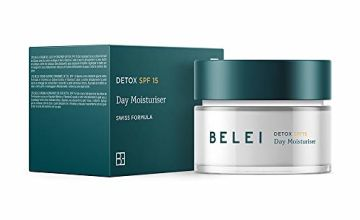 Amazon Brand - Belei - Detox Day Moisturiser with SPF 15, 50 ml