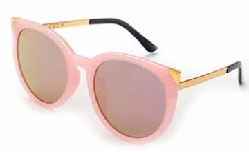 EFE Vintage Cateye Polarized Sunglasses for Women, Retro Sty