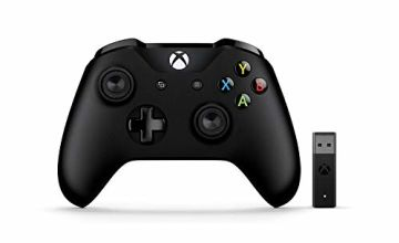 Save on PC compatible Xbox Controllers, with cable or dongle