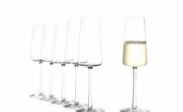 Stölzle Lausitz Champagne Glasses 238 ml Set of 6
