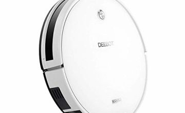 ECOVACS DEEBOT M82 robot vacuum – High suction with beater brush, auto self-charging, drop sensor – works on hard floor & carpet, with up to 150 min battery – 2 year warranty