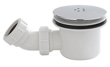 Ultra Nuie STW001 | Modern Bathroom Fast Flow Shower Waste, Chrome