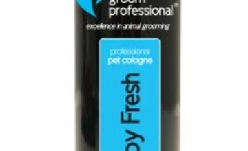 10% off Groom Professional Cologne & Shampoo