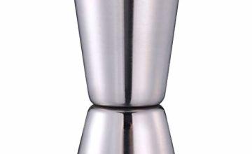 Stainless Steel Jigger Bar Craft Dual Spirit Measure Cup 25ml/50ml Double Jigger for Bar Cocktail Shot Measure