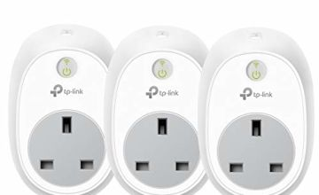 Kasa Smart Plug by TP-Link, WiFi Outlet, Works with Amazon Alexa (Echo and Echo Dot), Google Home and IFTTT, Wireless Smart Socket Remote Control Timer Plug Switch, No Hub Required (HS100P3)