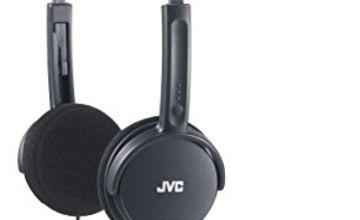 JVC Lightweight Headphones - Black