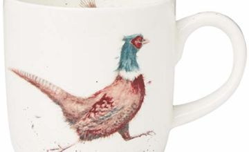 Portmeirion Home & Gifts Lord of The Woods (Pheasant) Single Mug, Multicoloured