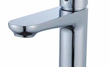 Casavilla Bathroom Sink Tap Modern Basin Mixer Tap Chrome Si