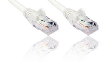 Cat6 0.25m Gigabit Ethernet/ Network Cable/ Lead - WHITE