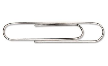 5 Star Giant Paperclips Plain Length 51mm [Pack of 100]
