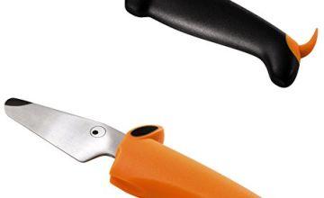 Kuhn Rikon kinderkitchen Children's Dog Knife Set,  Black / Orange