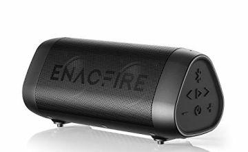 Bluetooth Speaker, ENACFIRE SoundBar Portable Wireless Speaker