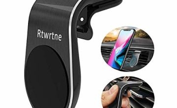 Rtwrtne Magnetic Car Phone Mount Holder Universal Air Vent Car Phone Holder with Super Strong Magnet for iPhone Xs Max XR 8 7 6 Plus Samsung Galaxy S10 S9 S8 S7 and More