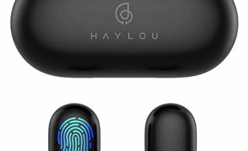 True Wireless Earbuds,Haylou GT1 Bluetooth 5.0 Sports HD Stereo Touch Control Ear Buds with IPX5 Waterproof/Fast Connection/Mini Case(Only 30g)/Total 12H Playtime