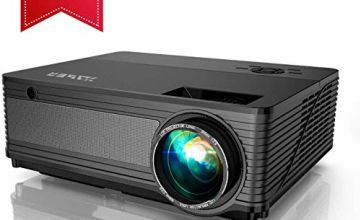 6000 Lumen 1080P Native LED Projector by YABER